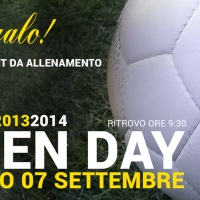 news OPEN DAY SABATO 7 SETTEMBRE
